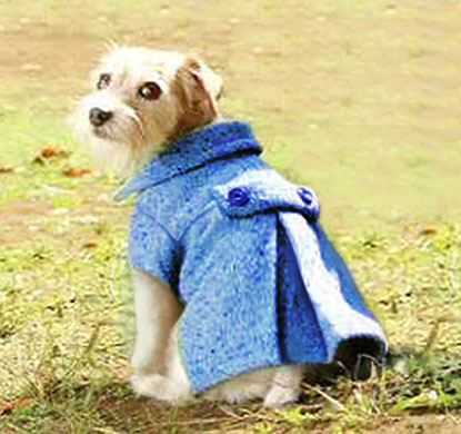 Doggy Pleated Wool Coat Sewing Pattern – Sewing Projects ...