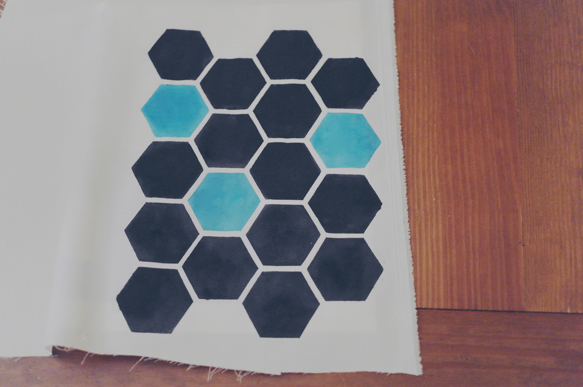Freezer paper honeycomb fabric – Sewing Projects | BurdaStyle.com