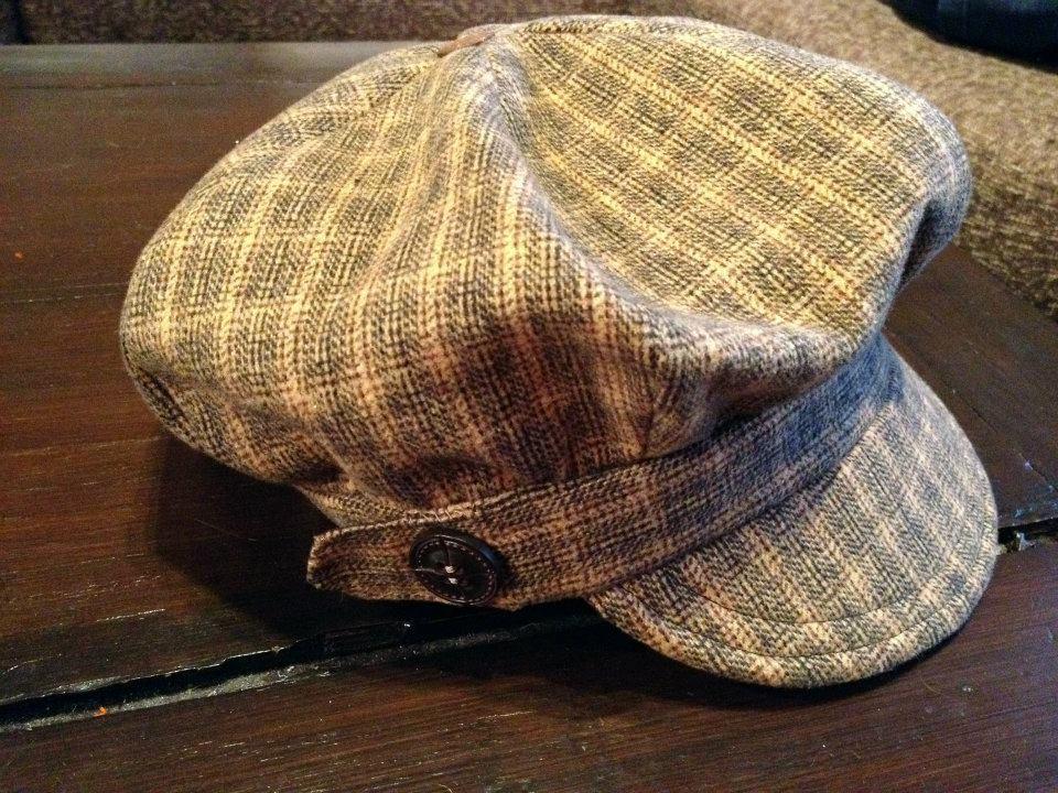 My Newsboy Hat Sewing Projects Burdastyle