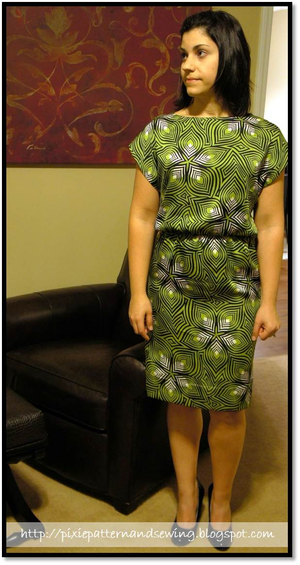 The Market Dress A Pattern Runway Pattern Sewing Projects