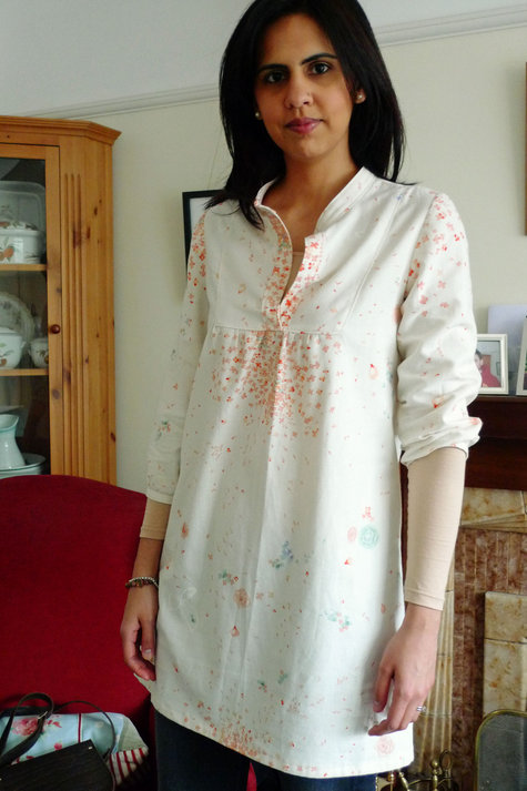 Tova Tunic With Blossom Sewing Projects Burdastyle