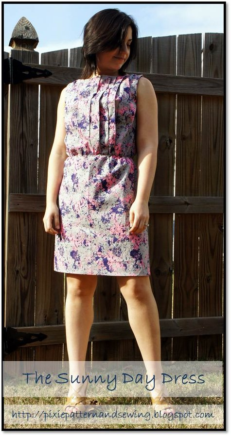 The_sunny_day_dress_sleeveless_pleated_front_dress_elastic_waist_pullover_salme_sewing_patterns_pixie_and_main_photo_large