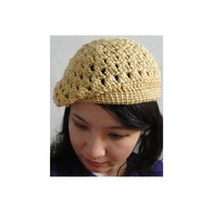 Autumn_maize_crochet_beret_listing