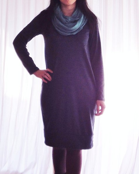 Long sleeve T-Shirt dress – Sewing Projects | BurdaStyle.com