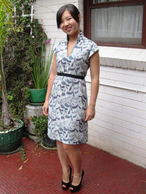 Cap sleeves and mandarin collar...vintage Style pattern – Sewing ...