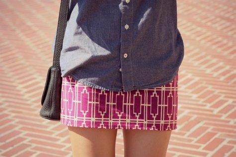 Statement Mini Skirt Sewing Projects Burdastyle