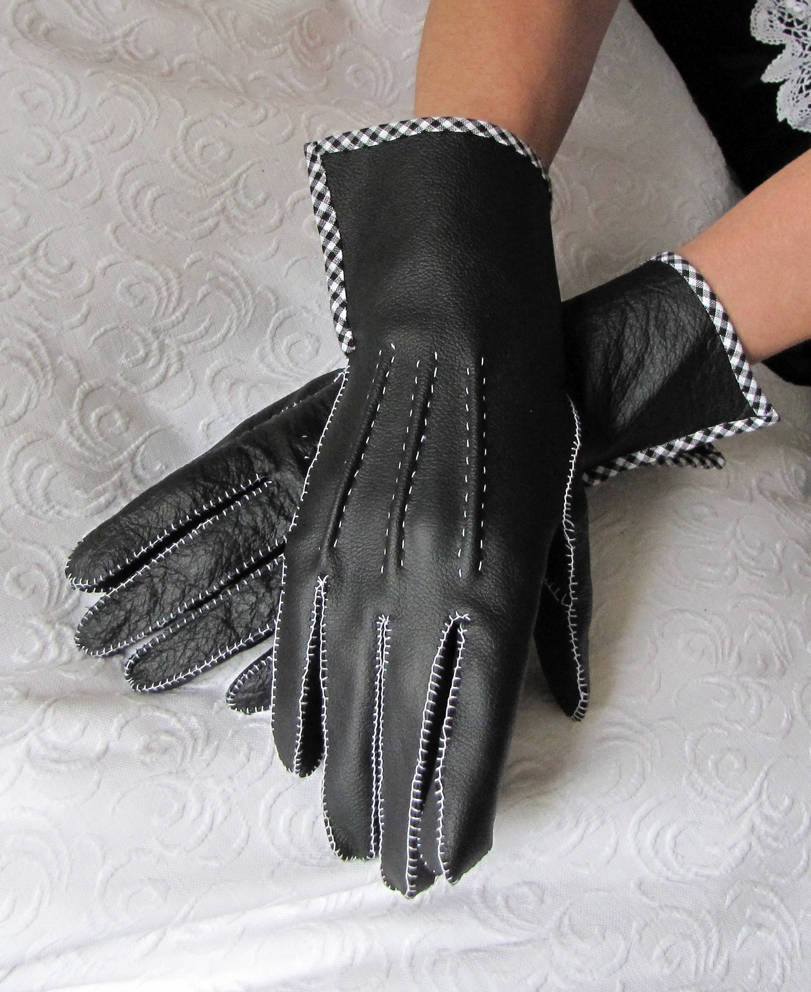 1950 S Leather Gloves Hand Sewn Sewing Projects