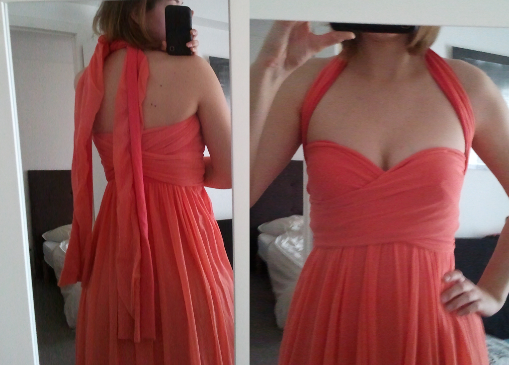 Coral Infinity Dress Sewing Projects Burdastyle