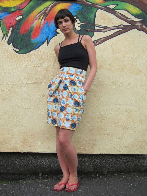 Summer Origami Skirt Sewing Projects Burdastyle