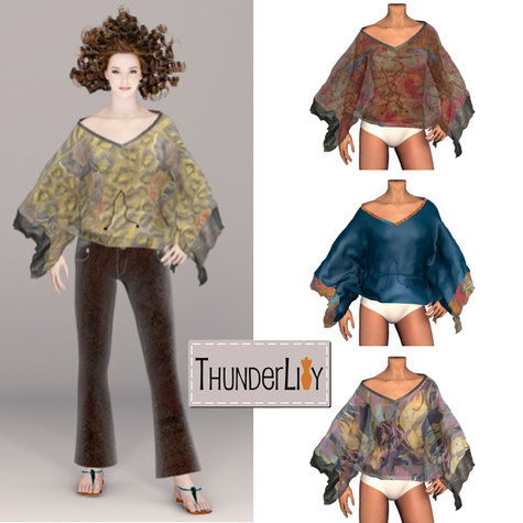 f7a6bf4ffd Boho Chic Kaftan Top – Sewing Projects | BurdaStyle.com