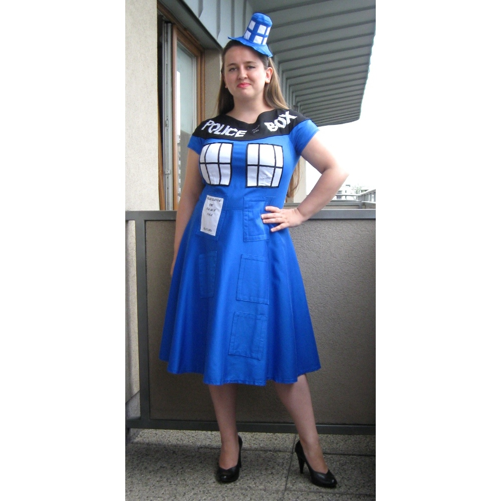 Elfka S Tardis Dress Sewing Projects Burdastyle Com