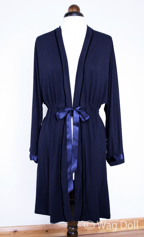 Dressing Gown. New Look 6072 Review – Sewing Projects | BurdaStyle.com