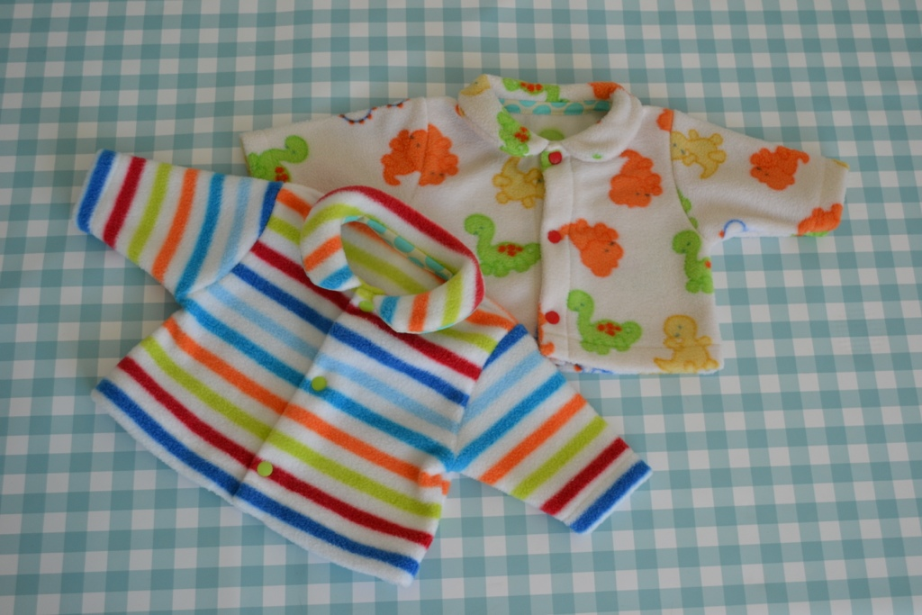 Baby Peter Pan Collar Jackets – Sewing Projects | BurdaStyle.com