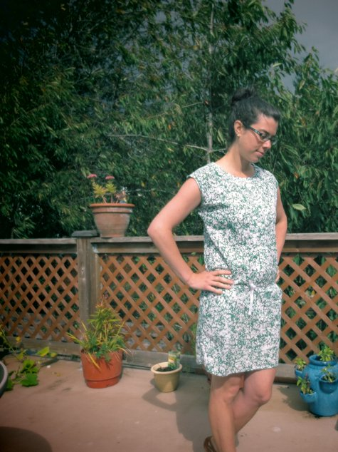 But Not A Real Green Dress - That's Cruel