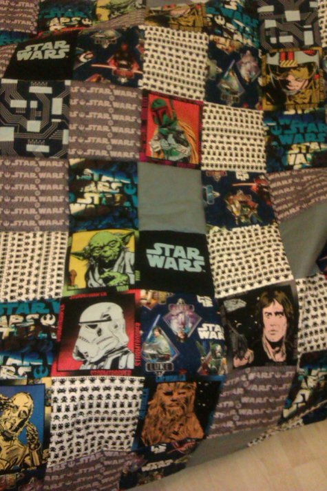 star wars quilt for christmas – Sewing Projects | BurdaStyle.com