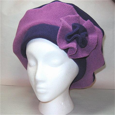 Fleece Beret – Sewing Projects  35b704578c6