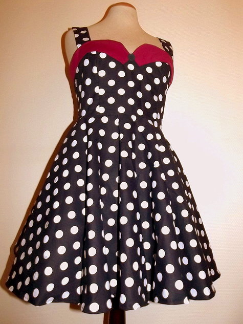 My first pin up dress – Sewing Projects | BurdaStyle.com