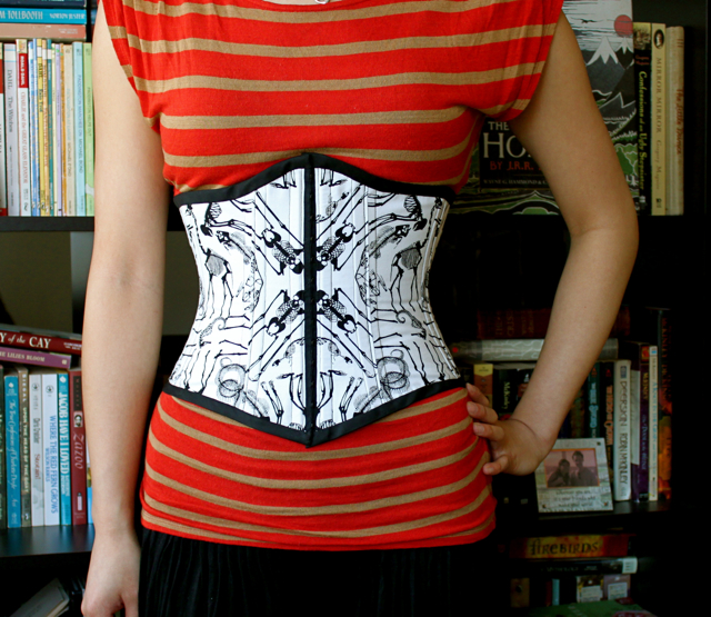 Skeleton Underbust Corset – Sewing Projects | BurdaStyle.com