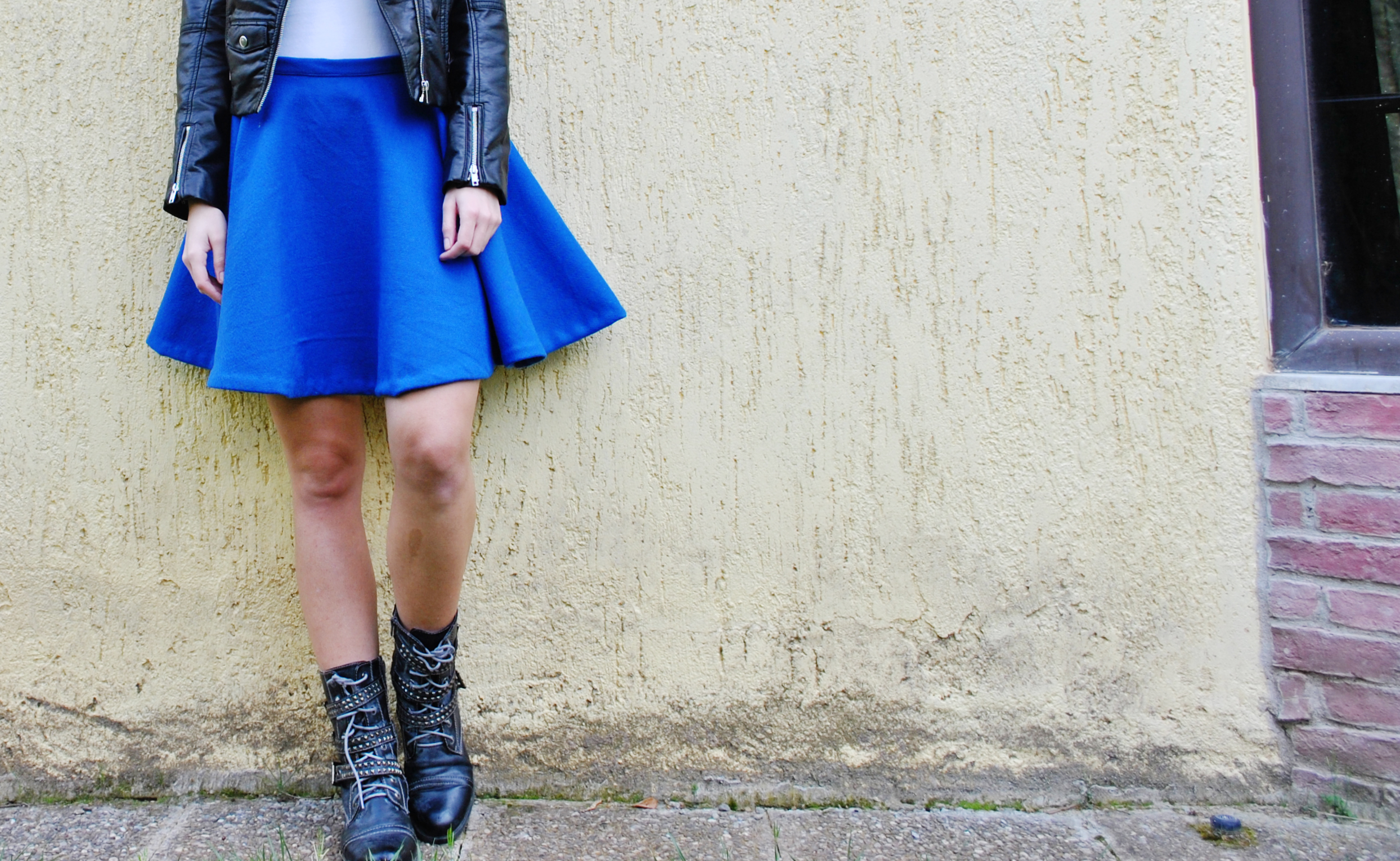 Cobalt blue skater skirt – Sewing Projects | BurdaStyle.com