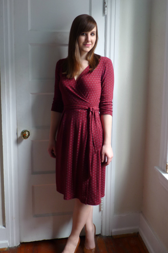 Knit Wrap Dress Pattern Image collections - handicraft ideas home ...