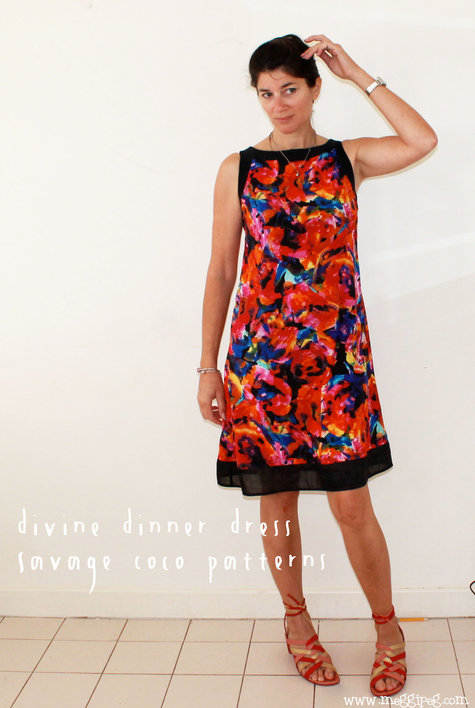 Divine Dinner Dress by Savage Coco Patterns – Sewing Projects ...