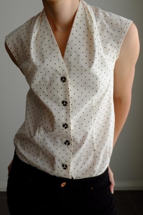Burda Sleeveless Blouse Pattern 128 – Sewing Projects | BurdaStyle.com