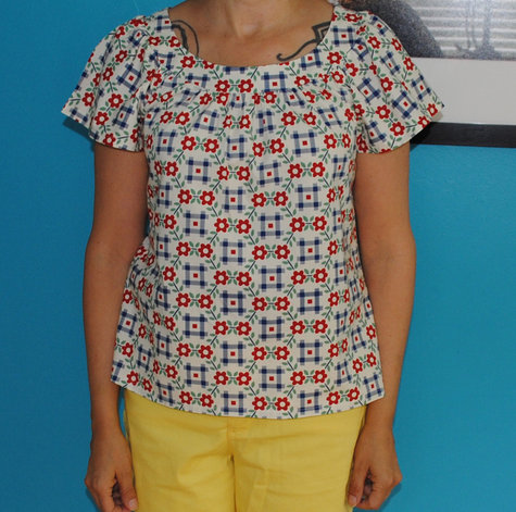 Simple Summer Blouse – Sewing Projects | BurdaStyle.com