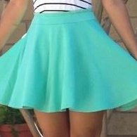 Mint_skirt-_front_view_listing