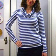 Sewaholic_renfrew_6_blue_striped_cowl_neck_-_hand_on_hip_listing