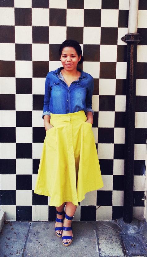 Thesecretcostumier-yellowskirtdenimshirt_large