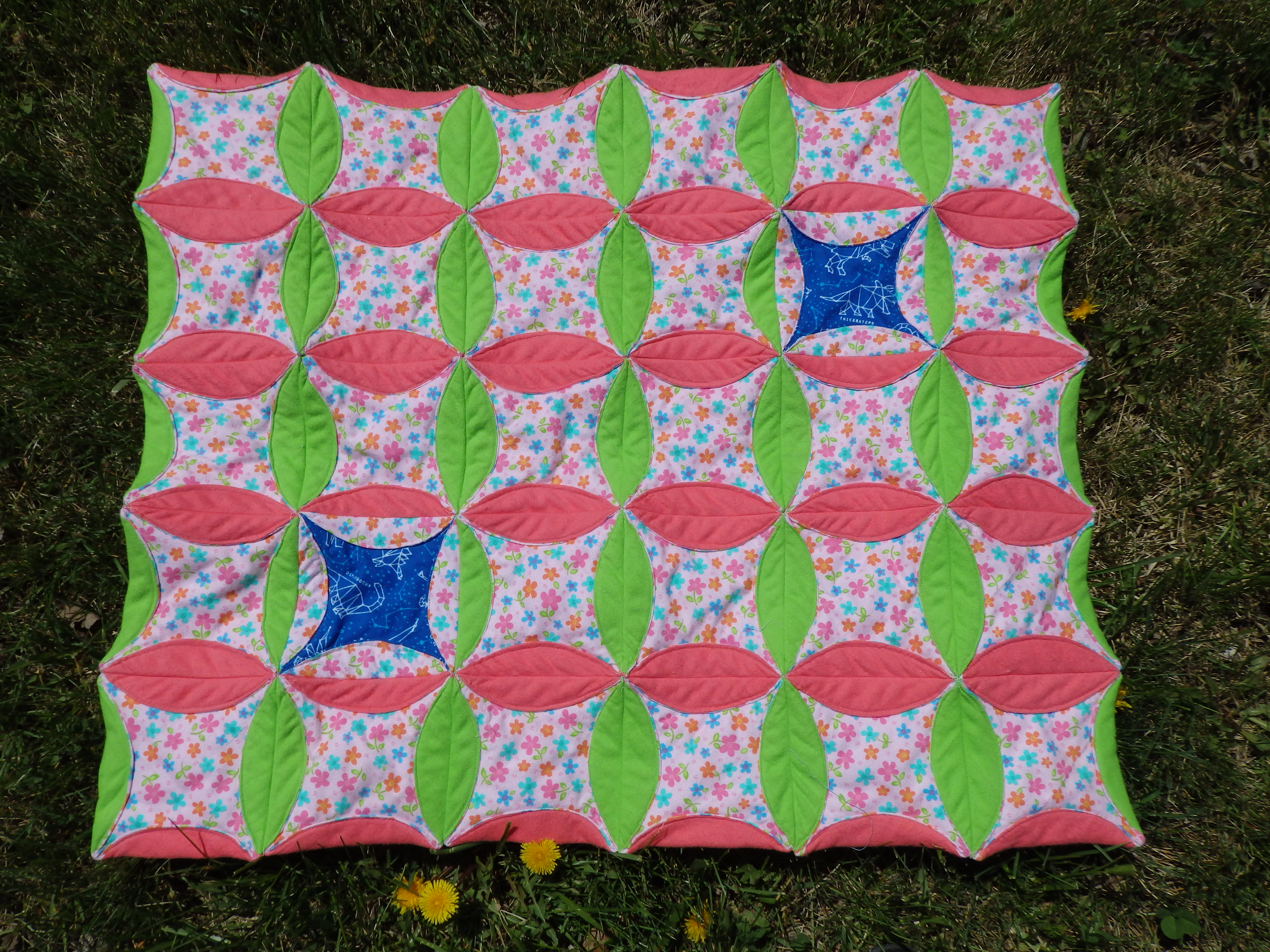 Orange Peel Baby Quilt Sewing Projects Burdastyle Com