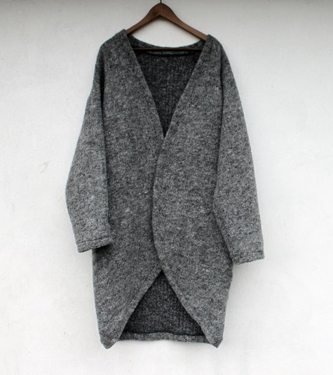 2989eecf2c49 Wool Cocoon Cardigan – Sewing Projects