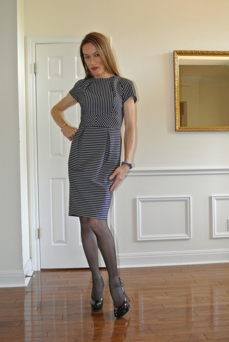 Member Model Challenge Pleated Designer Dress Sewing