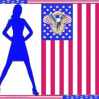 Silhouette_1blue_flag_image_listing