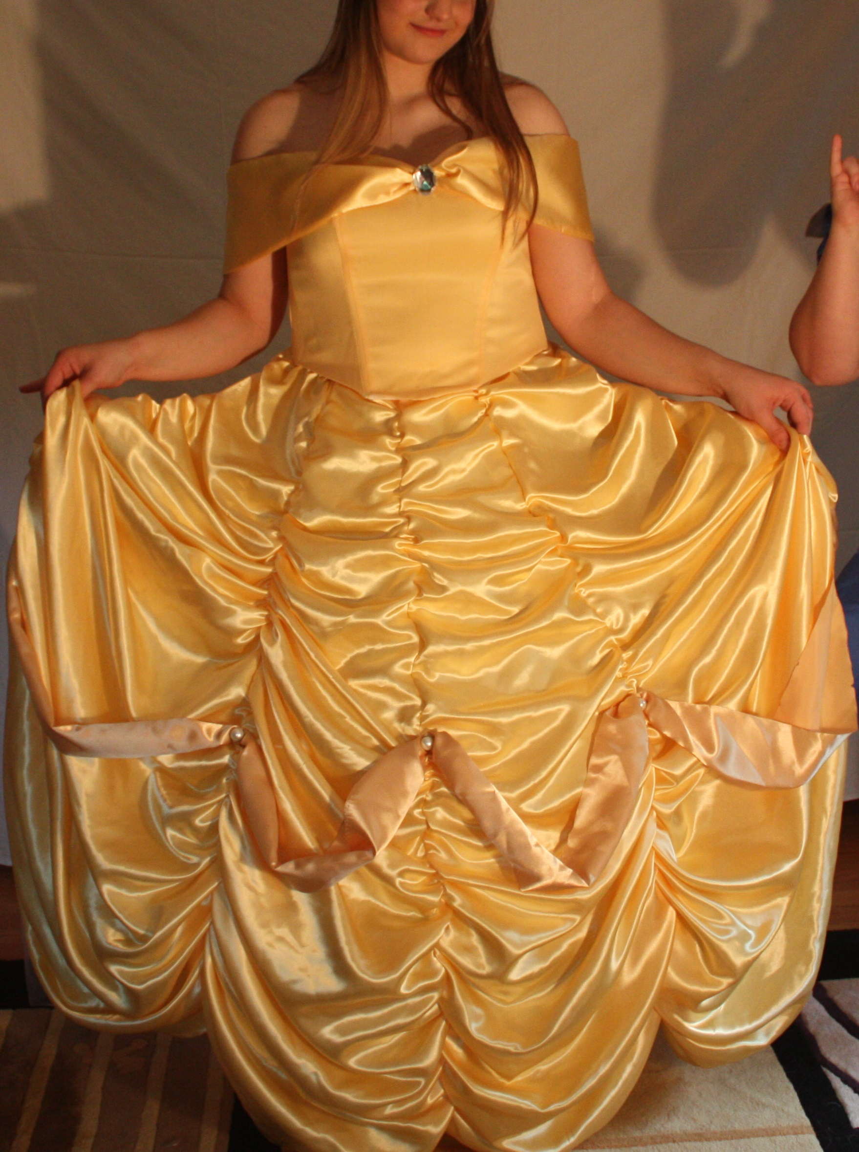 Belle S Diary Bohemian Style: Belle's Ballgown--Beauty And The Beast