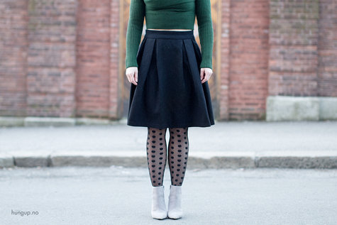 Midi skirt with box pleats (free pattern and tutorial available ...
