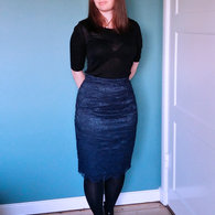 Blue_soutache_lace_pencil_skirt_front_stinap_listing
