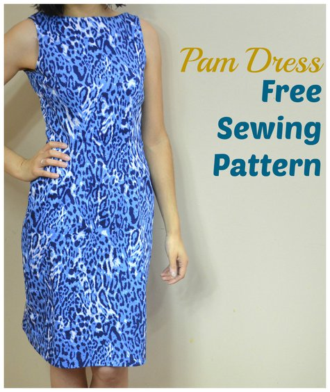Pam Dress Free Sewing Pattern Sewing Projects Burdastyle