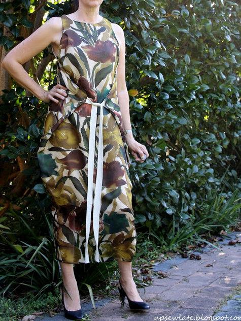 Jungle January Kielo Wrap Dress Sewing Projects Burdastyle Com