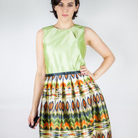 Ethnic_print_green_dress_2_listing