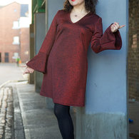 Red_glitter_bell_sleeve_dress_ooobop_1_listing