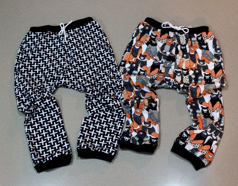 Burdastyle Kids Harem Pants Sewing Projects Burdastyle Com