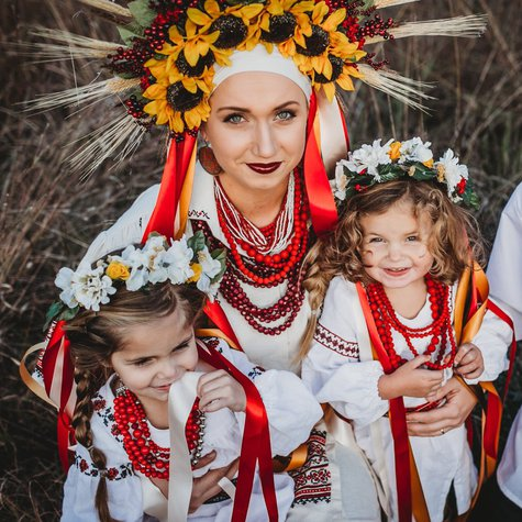 Ukrainian_hand_embroidered_vyshyvanka_dresses_blouses_red_black_blue_sunflower_floral_wheat_crown_russian_jewelry_girls_boys_baptismal_sash_1_large