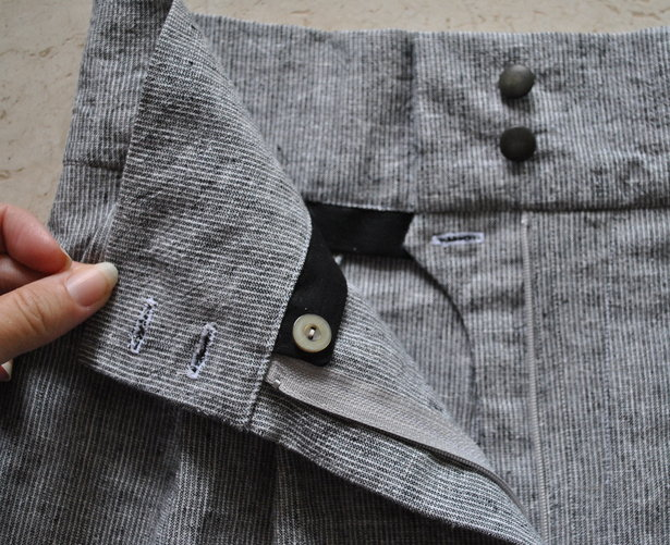 French Fly Or Waist Stay For Trousers Shorts Learning